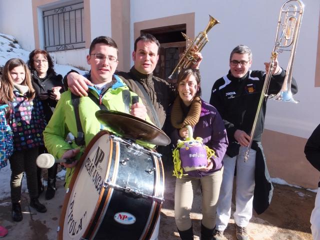La Pifola, con Lara y Botijina